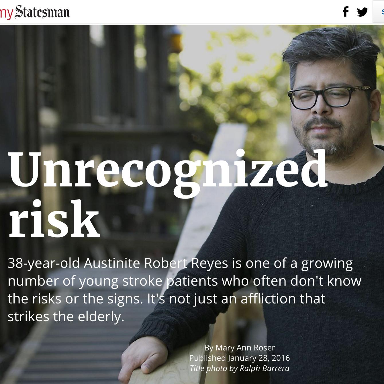 Unrecognized Risk Roser Prose